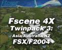FScene 4X Twinpack #3: Asia/Australia/NZ for FSX & FS2004