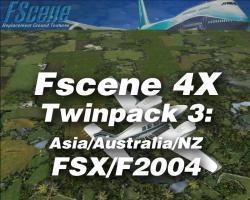 FScene 4X Twinpack #3: Asia/Australia/NZ