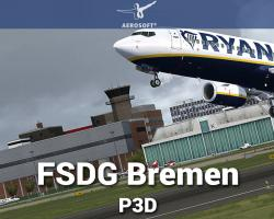 FSDG Bremen Scenery for P3D