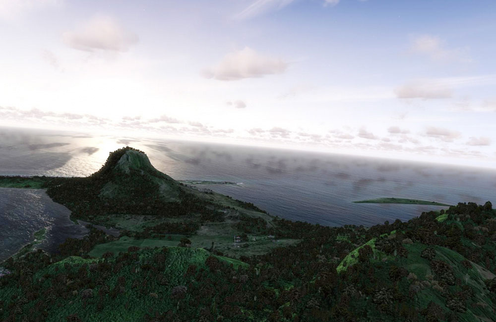 fsdg mauritius scenery for fsx  p3d by aerosoft