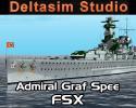 Admiral Graf Spee Battleship for FSX