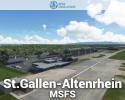 St.Gallen-Altenrhein Airport (LSZR) Scenery for MSFS