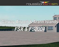 Galway Airport & Arann Islands Scenery