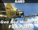 Alabeo Granville Gee Bee Model Z for FSX/P3D