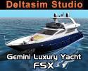 Gemini Luxury Motor Yacht for FSX
