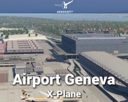 Airport Geneva Scenery
