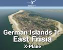 German Islands 1: East Frisia Scenery for X-Plane