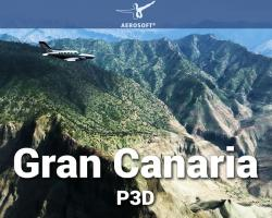 Canary Islands Professional: Gran Canaria Scenery for P3D