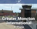 Airport Greater Moncton International (CYQM) Scenery for X-Plane