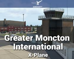 Airport Greater Moncton International (CYQM) Scenery