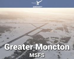 Greater Moncton (CYQM) Airport Scenery for MSFS