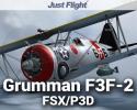 Aeroplane Heaven Grumman F3F-2 for FSX/P3D