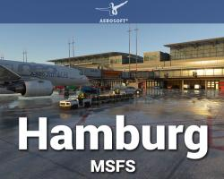 Hamburg Airport (EDDH) Scenery