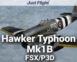 Aeroplane Heaven Hawker Typhoon Mk1B for FSX/P3D