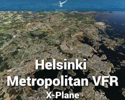 Helsinki Metropolitan VFR Scenery