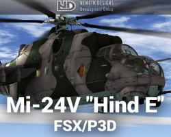 """Mil Mi-24V """"Hind E"""""""