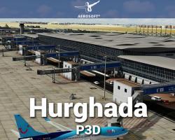 Hurghada International Airport (HEGN) Scenery for P3D