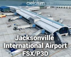 Jacksonville International Airport (KJAX) Scenery