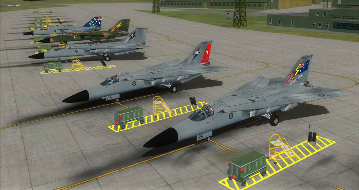 F-111 Aardvark for FSX/P3D by Just Flight