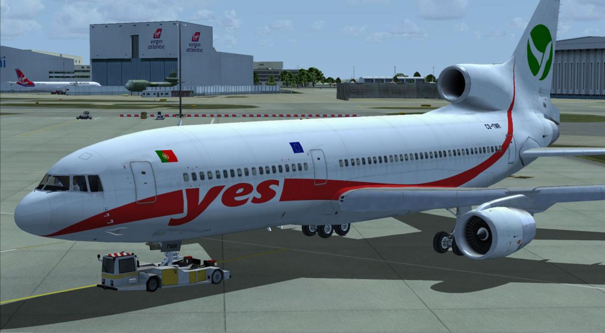 L-1011 TriStar Jetliner Livery Expansion for FSX