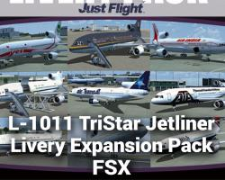 L-1011 TriStar Jetliner Livery Expansion