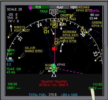 Boeing 787 Panel for FSX/P3D