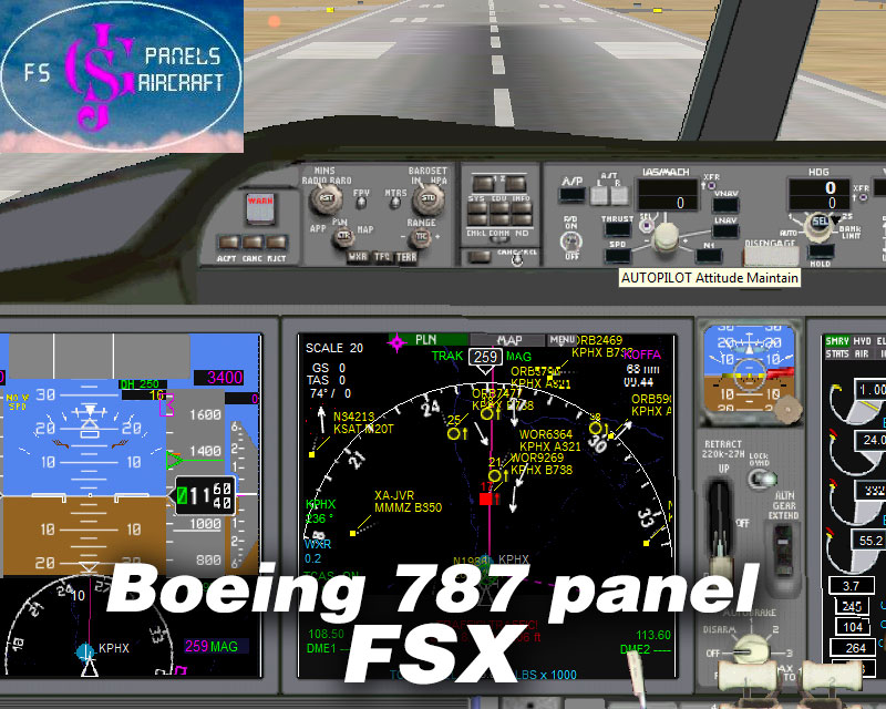 Fsx Boeing 787 With Vc - smallbusinesssoftmore