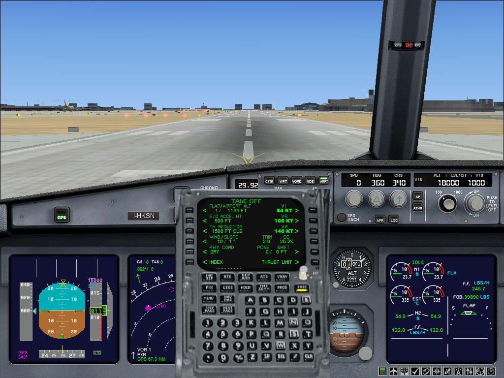 Universal Flight Management Computer (FMC) for FSX/P3D