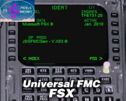 Universal Flight Management Computer (FMC)