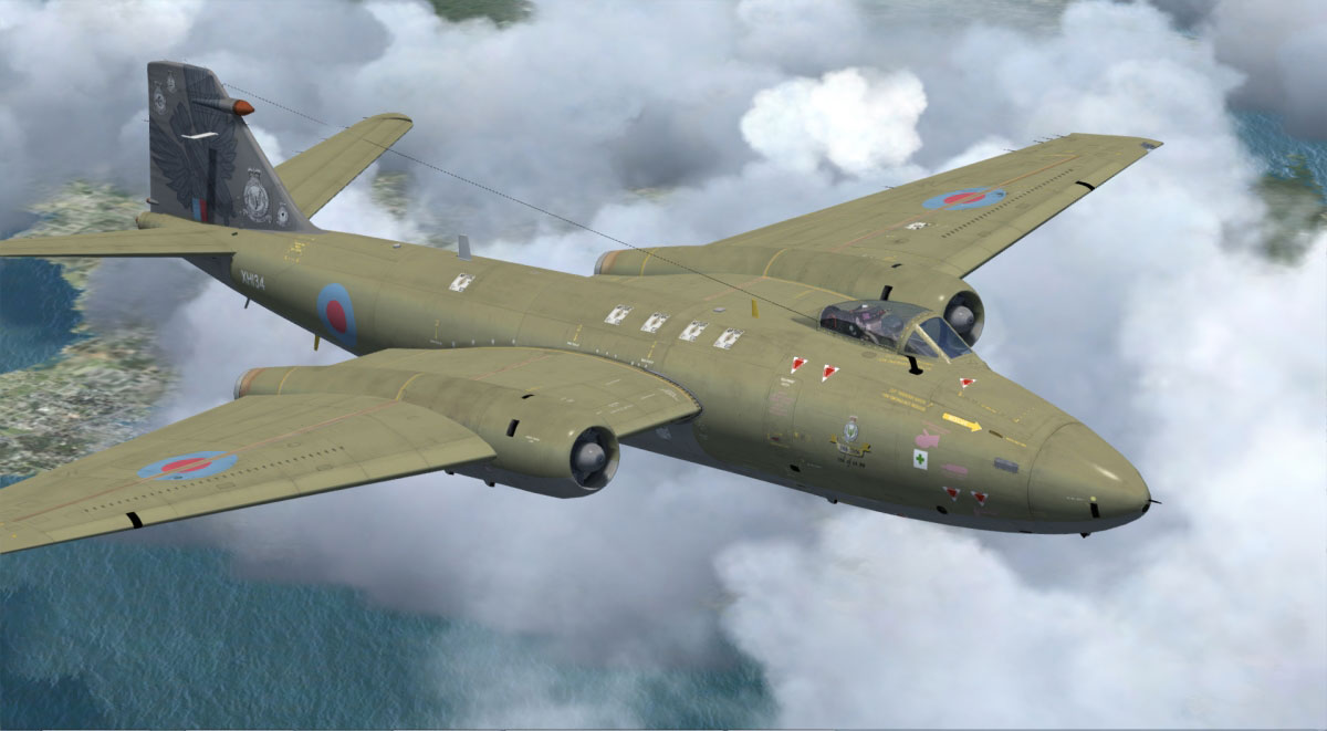 Canberra Pr9 For Fsx P3d By Just Flight