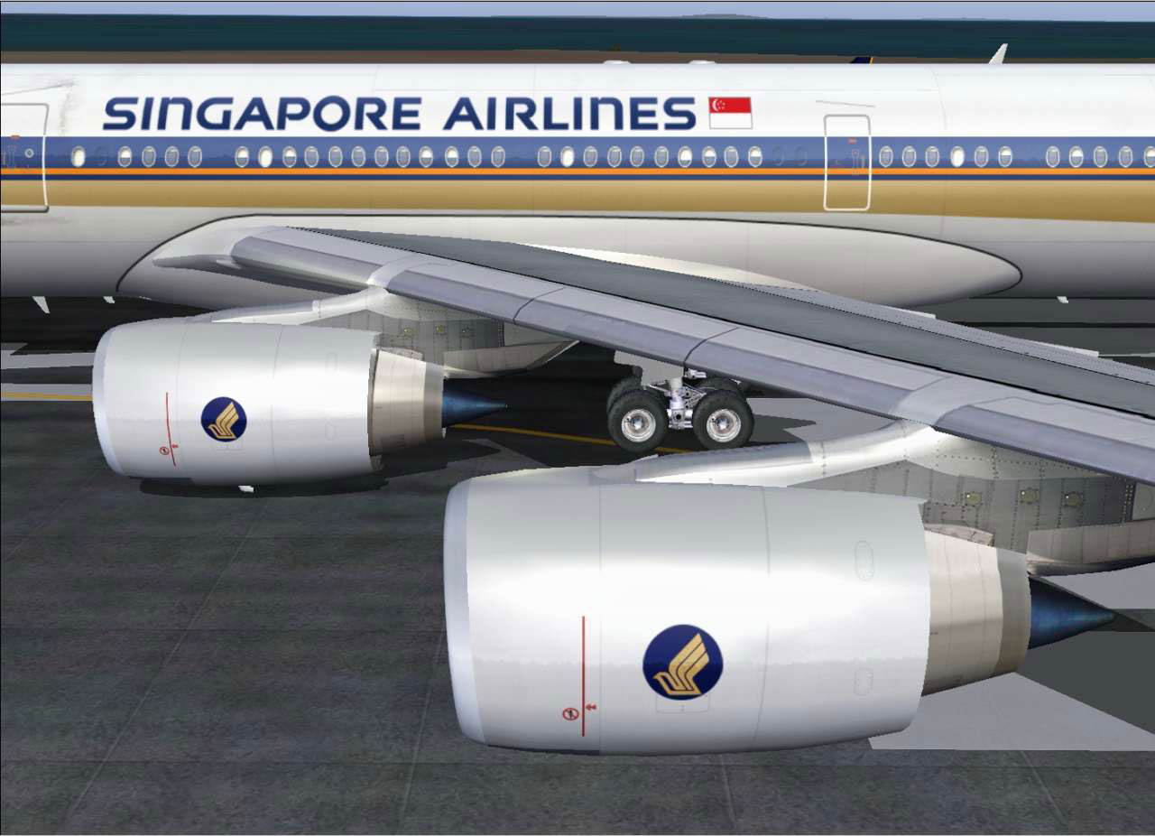 Airbus A340-500/600 for FSX/FS2004