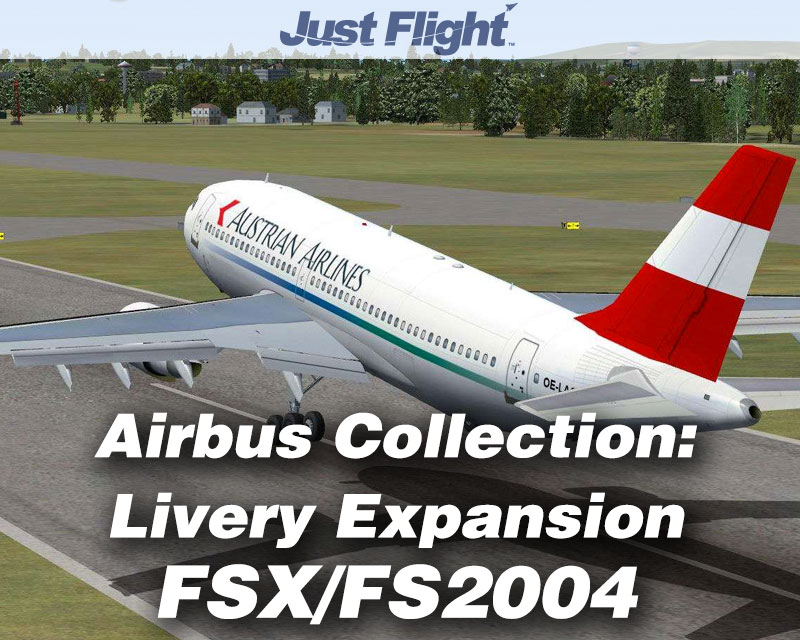 Airbus Collection Livery Upgrade Pack for FSX/FS2004