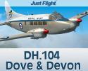 DH.104 Dove & Devon for FSX/P3D