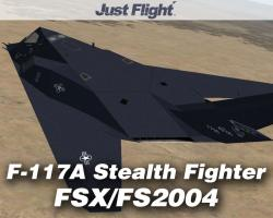 F-117A Stealth Fighter for FSX/FS2004