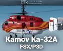 """Kamov Ka-32A """"Helix"""" for FSX/P3D"""