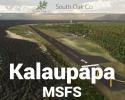 Kalaupapa Airport (PHLU), Hawaii Scenery for MSFS