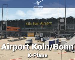 Airport Cologne (Köln)/Bonn Scenery for X-Plane