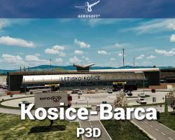 Kosice-Barca Airport Scenery for P3D