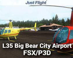 L35 Big Bear City Airport Scenery for FSX/P3D