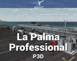 Canary Islands Professional: La Palma Scenery for P3D