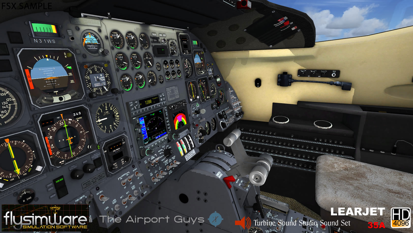 Learjet 35A for FSX/P3D