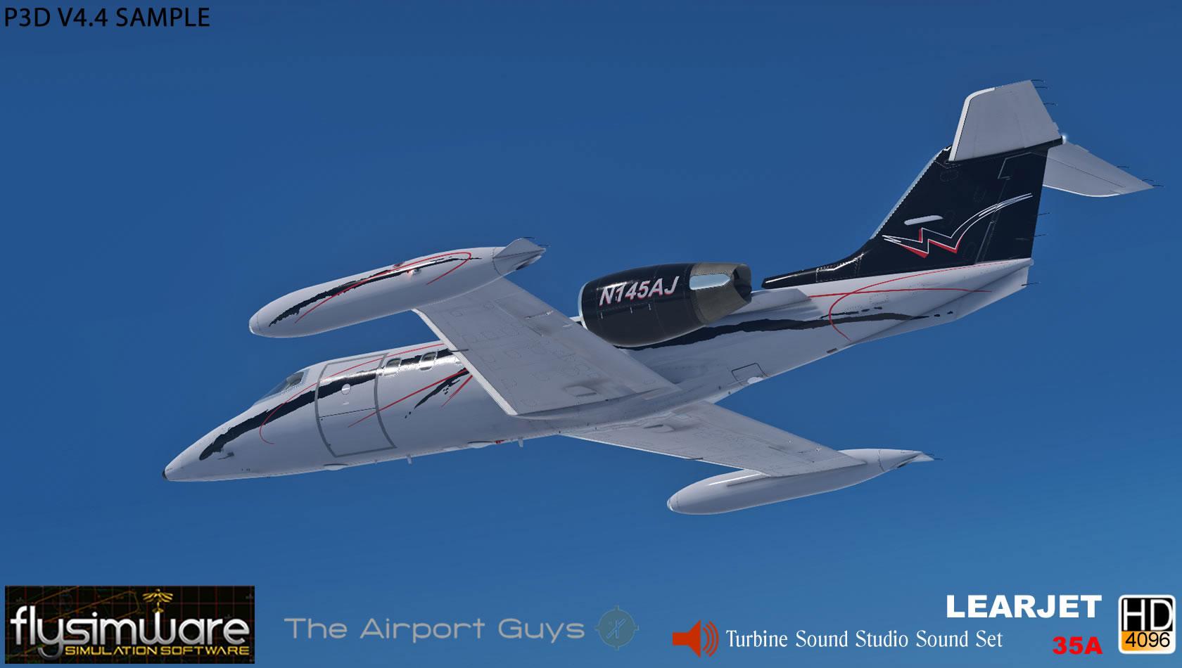Learjet 35A for FSX/P3D