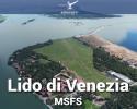 Airfield Lido di Venezia (LIPV) Scenery for MSFS
