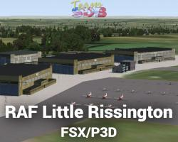 RAF Little Rissington Scenery for FSX/P3D