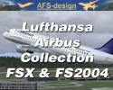 Airbus Collection with Lufthansa Repaints for FSX & FS2004