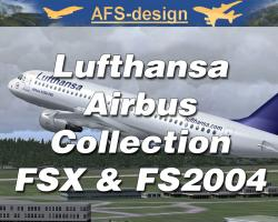 Airbus Collection with Lufthansa Repaints