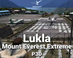 Lukla: Mount Everest Extreme Scenery for P3D