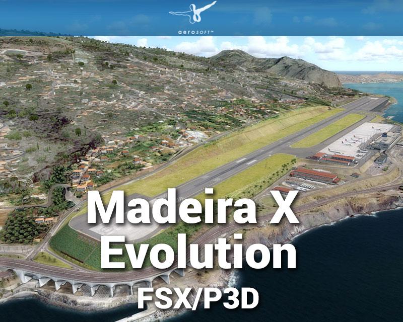 Madeira X Evolution Scenery for FSX/P3D
