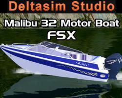 Malibu 32 Motor Boat