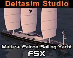 Maltese Falcon Sailing Yacht for FSX